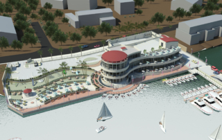 Ikoyi-Rendering- Aerial View Waterside 2010